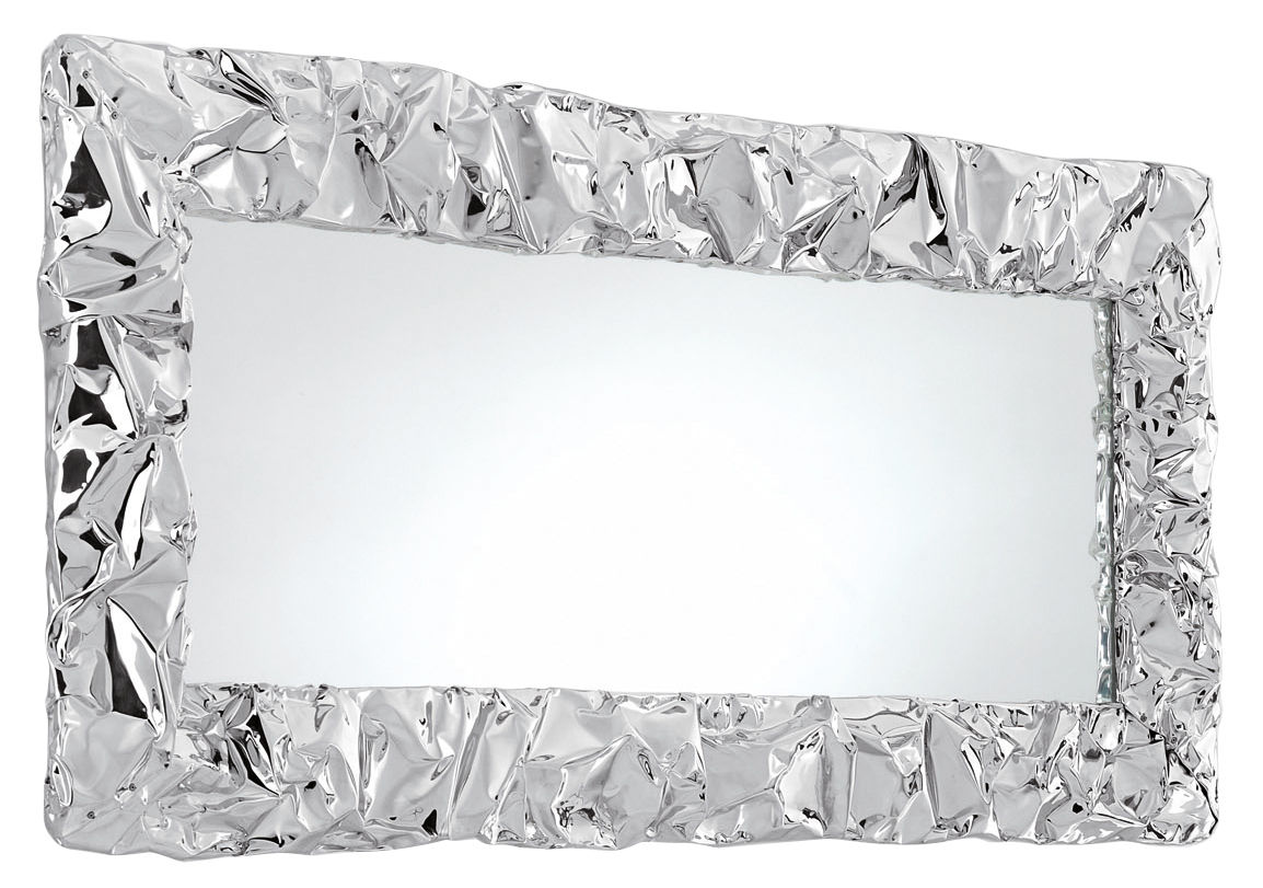 Tabu u wall mirror chromed by opinion ciatti for Miroir collable