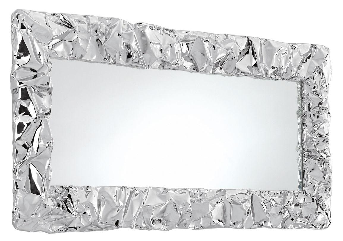 Miroir tabu u 80 x 110 cm chrom opinion ciatti for Miroir 140 x 60