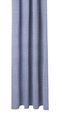 Rideau de douche Chambray Blue / 160 x H 205 cm - Coton enduit - Ferm Living bleu en tissu