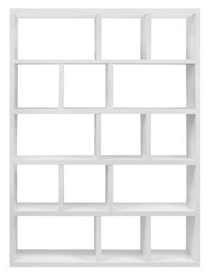 Bibliothèque Rotterdam / L 150 x H 198 cm - POP UP HOME blanc mat en bois