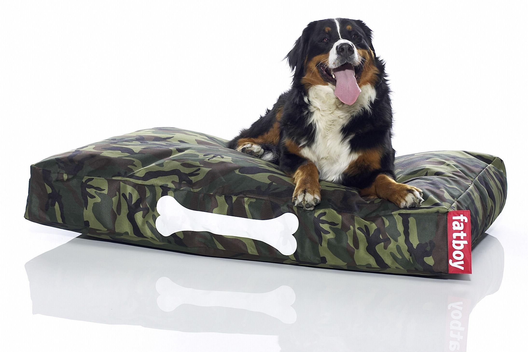 pouf doggielounge pour chien large camouflage fatboy. Black Bedroom Furniture Sets. Home Design Ideas