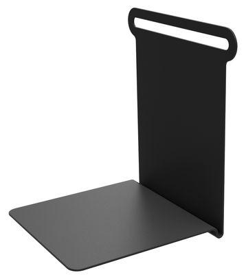 Etagère Knick / Range-livres - L 15 cm - Matière Grise noir en métal