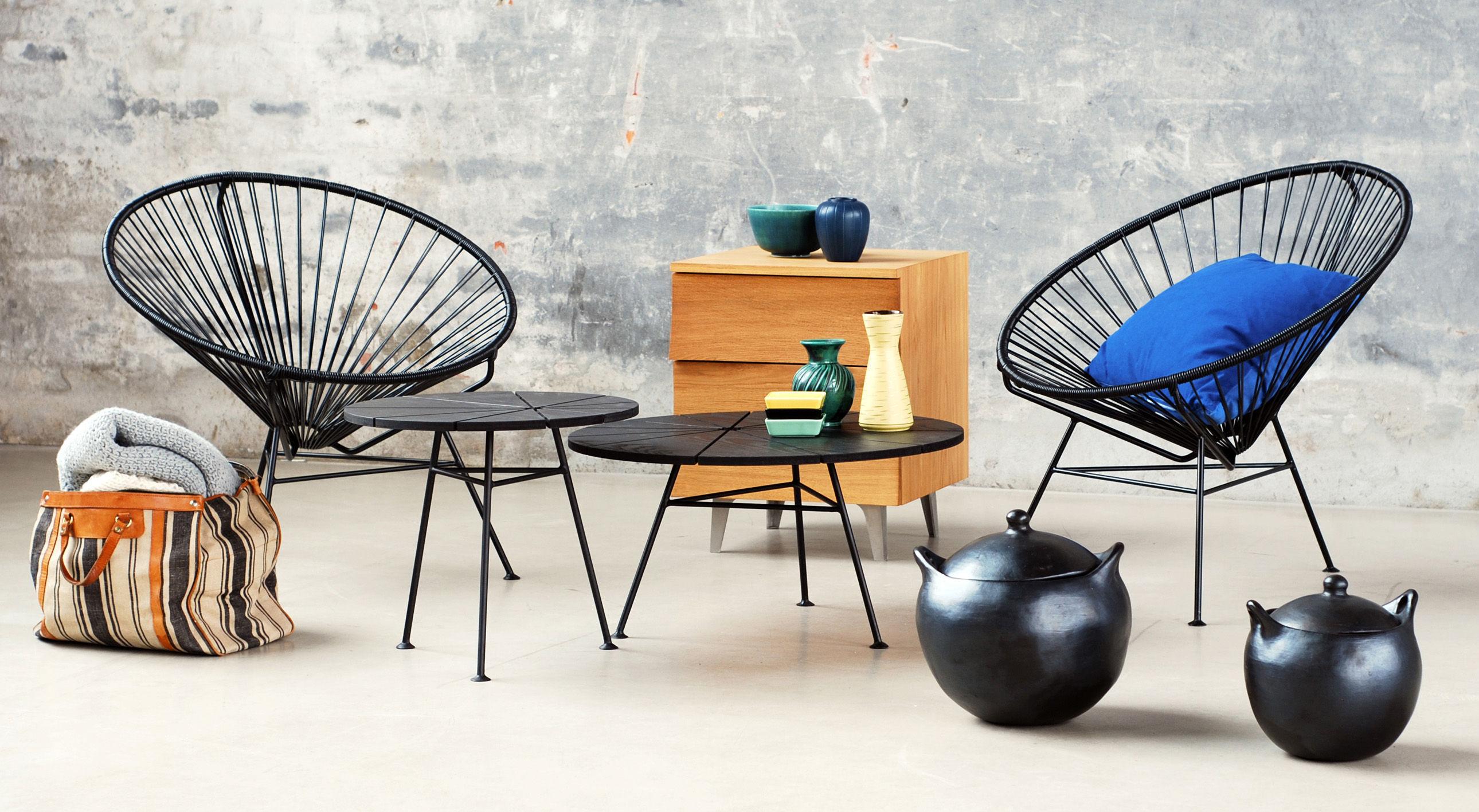Condesa Low armchair Pink by OK Design pour Sentou Edition