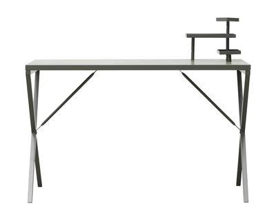 Bureau Tray / Métal - L 120 cm - House Doctor vert kaki en métal