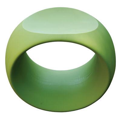 Foto Sgabello Cero di Serralunga - Verde mela - Materiale plastico