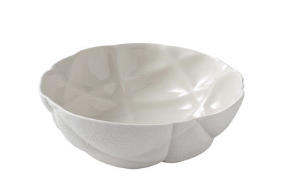 Bol Succession / Ø 17 cm - Porcelaine - Fait main - Petite Friture blanc en céramique