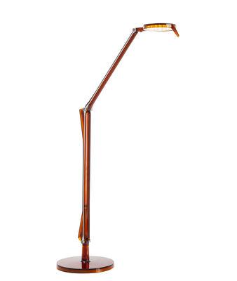 Aledin TEC Tischleuchte / LED - flacher Diffusor - Kartell - Amber