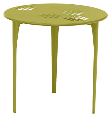 Pattern Tisch Ø 80 cm - Emu - Grün