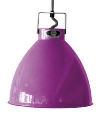 Suspension Augustin XL Ø 54 cm - Jieldé violet brillant en métal