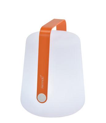 Foto Lampada senza fili Balad / LED - Ricarica USB - Fermob - Carota - Metallo Lampe sans fil