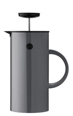 Cafetière à piston Classic / 8 tasses - Stelton gris anthracite en matière plastique