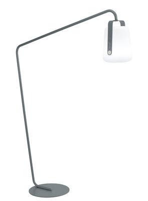 Pied pour lampes Balad / Large H 190 cm - Déporté - Fermob gris orage en métal