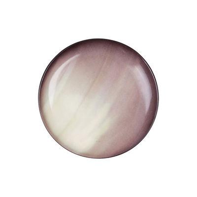 Assiette à dessert Cosmic Diner Saturne Ø 16,5 cm Diesel living with Seletti blanc,marron en céramique