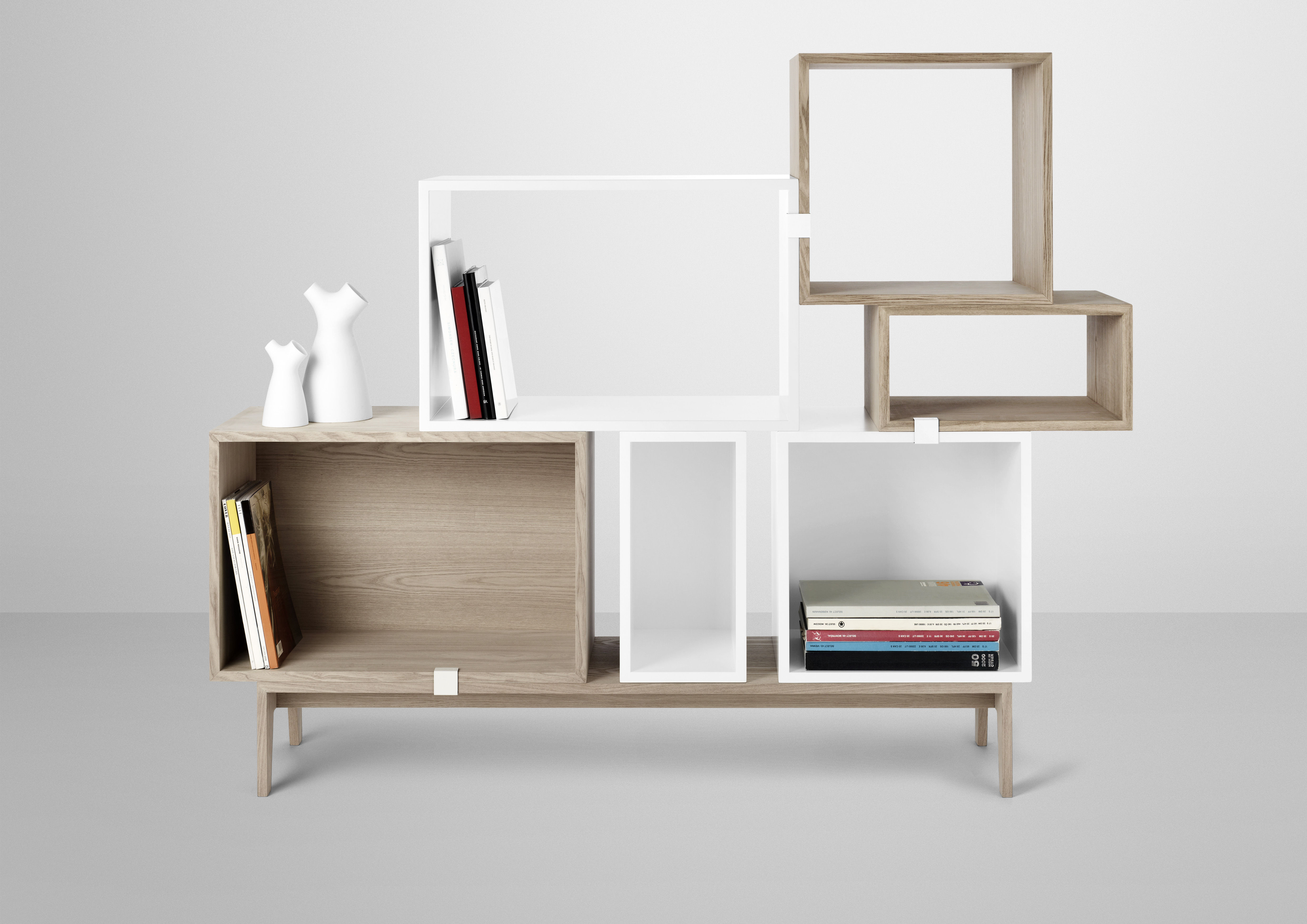 podium base for stacked shelves ash by muuto. Black Bedroom Furniture Sets. Home Design Ideas
