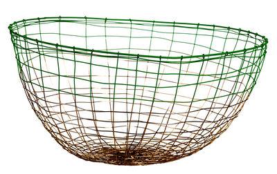 Déco - Corbeilles, centres de table, vide-poches - Corbeille Gradient Knot / Fil de fer - Ø 31 cm - Pols Potten - Cuivre / Vert - Fil de fer
