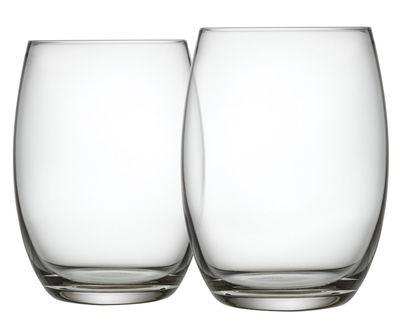 Arts de la table - Verres  - Verre long drink Mami XL / Lot de 2 - Alessi - Transparent - Verre cristallin