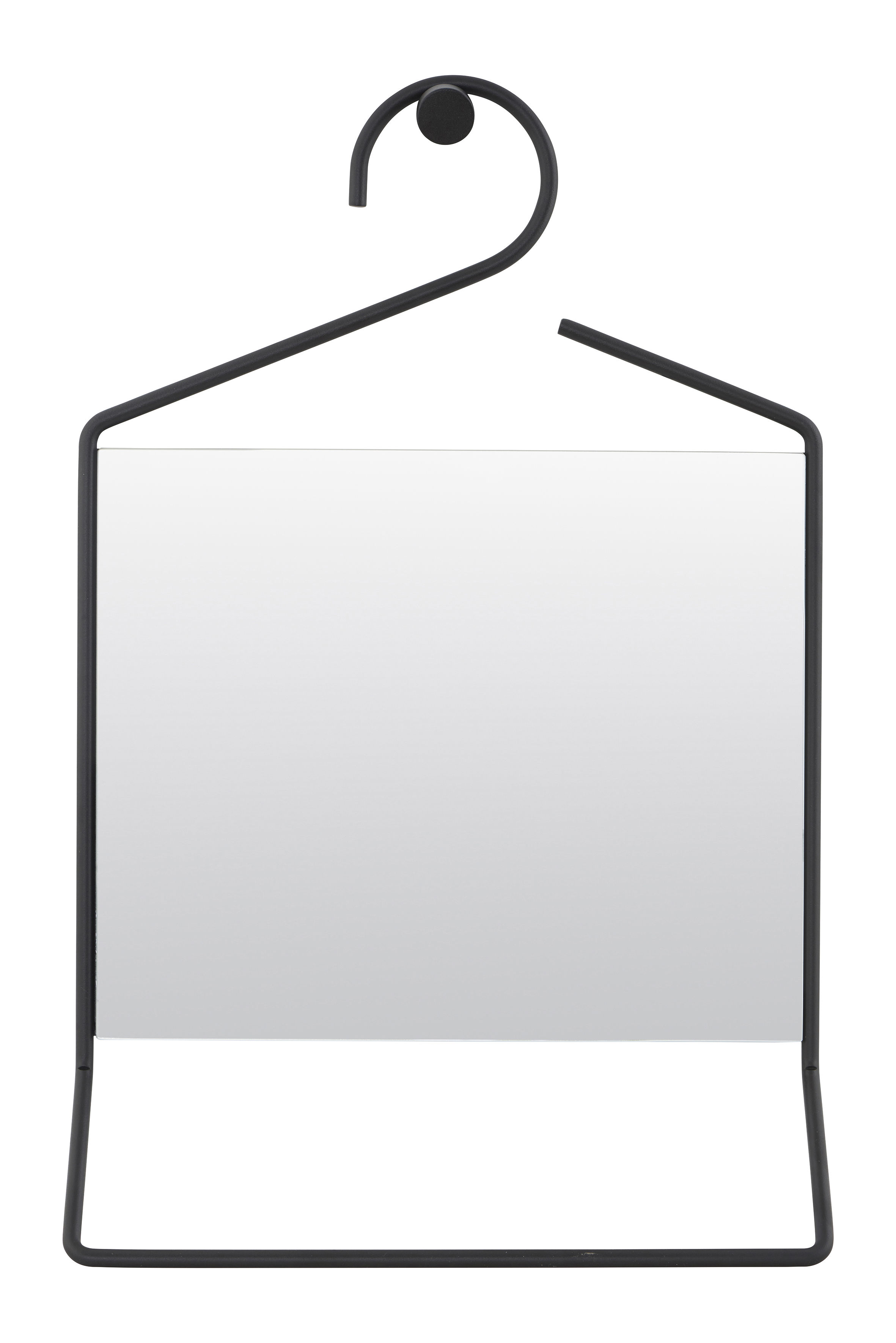 hang mit integriertem handtuchhalter h 50 cm house doctor wandspiegel. Black Bedroom Furniture Sets. Home Design Ideas