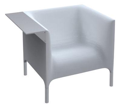 Poltrona Out-In di Driade - Bianco - Metallo