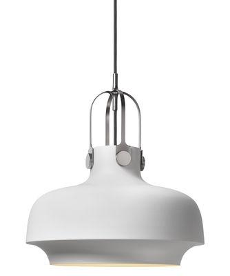 Luminaire - Suspensions - Suspension Copenhague SC7 / Ø 35 cm - Métal - &tradition - Métal / Blanc - Métal laqué