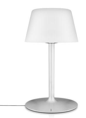 Lampe solaire sunlight large sans fil h 50 cm large for Luminaire exterieur sans fil