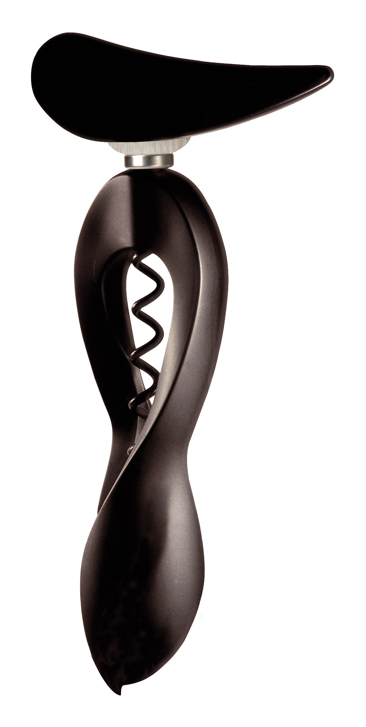 chic lady night bottle opener corkscrew black by l 39 atelier du vin. Black Bedroom Furniture Sets. Home Design Ideas