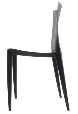 Genial Furniture   Chairs   Bellini Chair By Heller   Black   Fibreglass,  Polypropylene