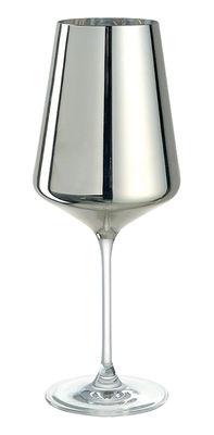 Verre à vin D´Oro - Leonardo argent en verre