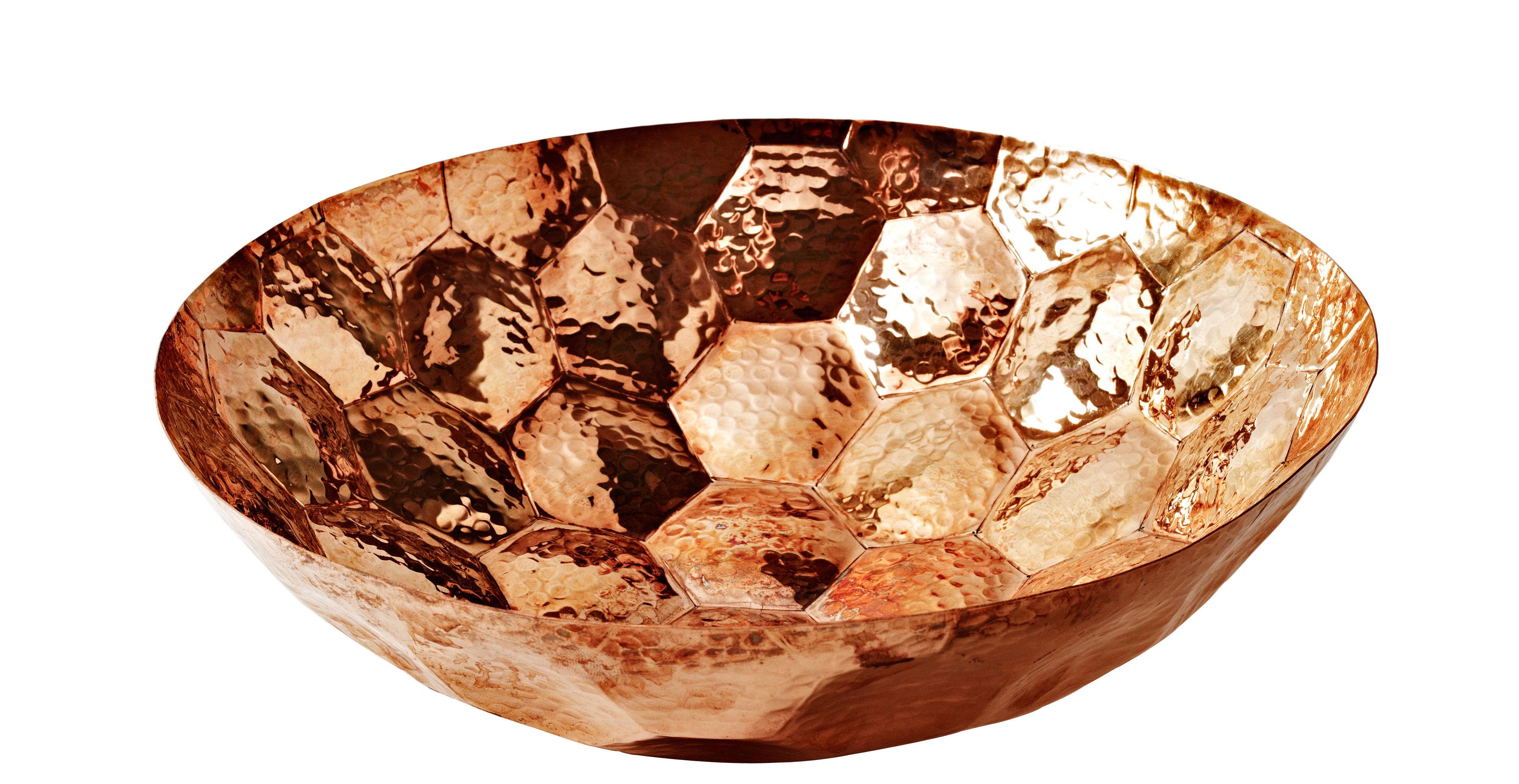 Hex Bowl Copper 18 Cm By Tom Dixon