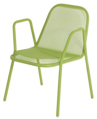 Golf Stapelbarer Sessel - Emu - Grün
