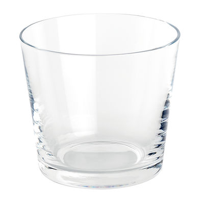 Tableware - Wine Glasses & Glassware - Tonale Water glass by Alessi - Transparent - Glass
