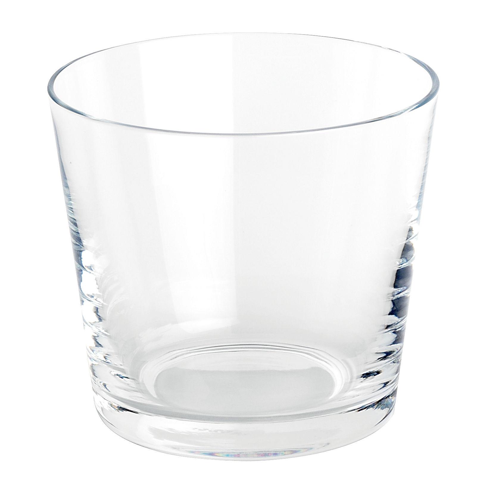 Verre eau tonale transparent alessi - Place du verre a eau sur une table ...