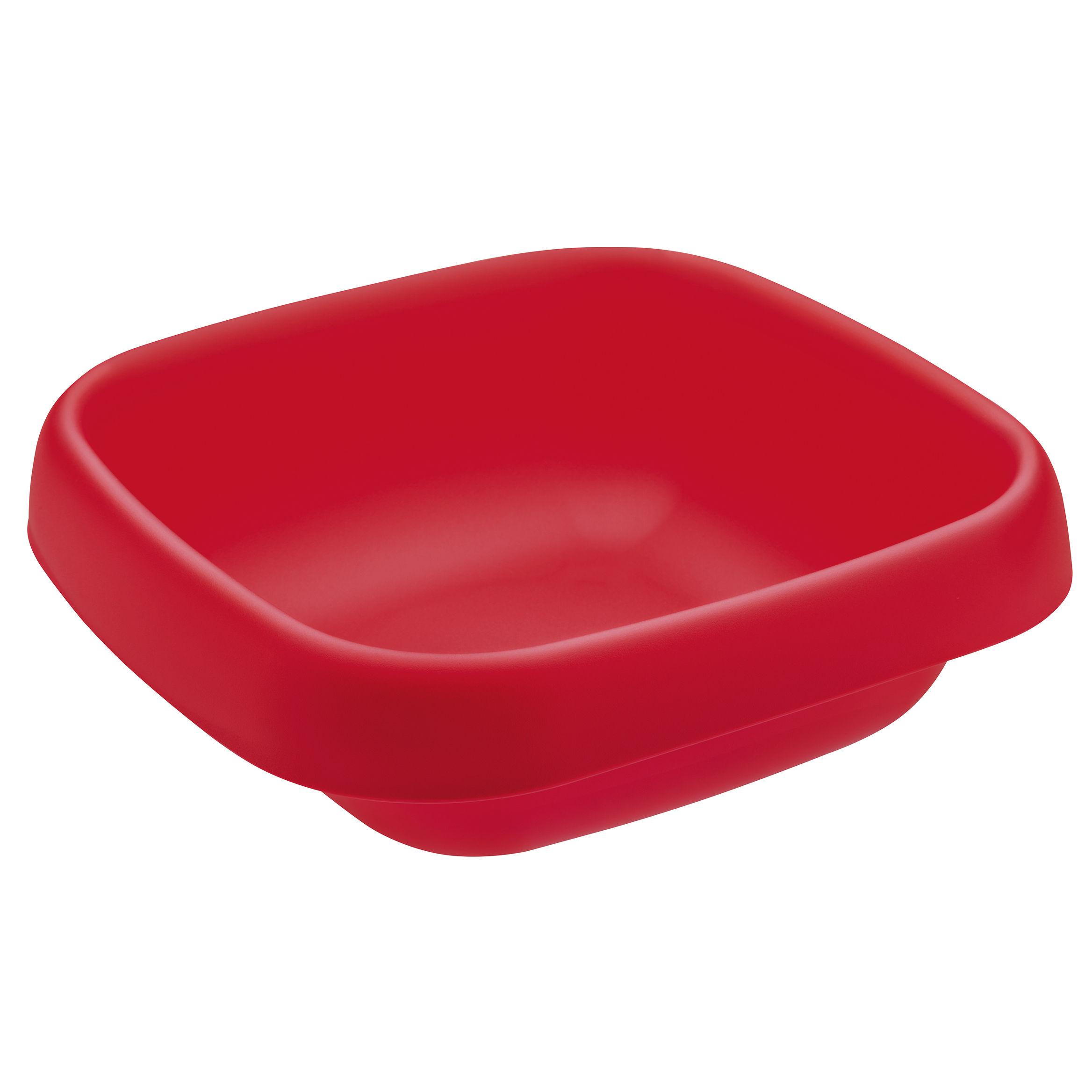 corbeille pain brad rouge framboise koziol. Black Bedroom Furniture Sets. Home Design Ideas