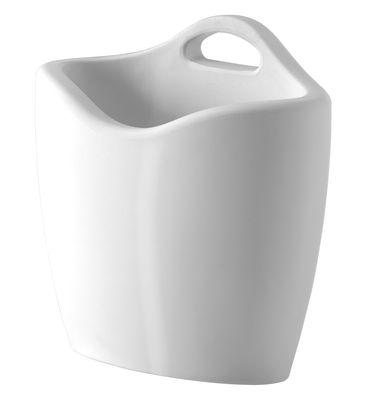 Porte-revues Mag version laquée - Slide laqué blanc en matière plastique