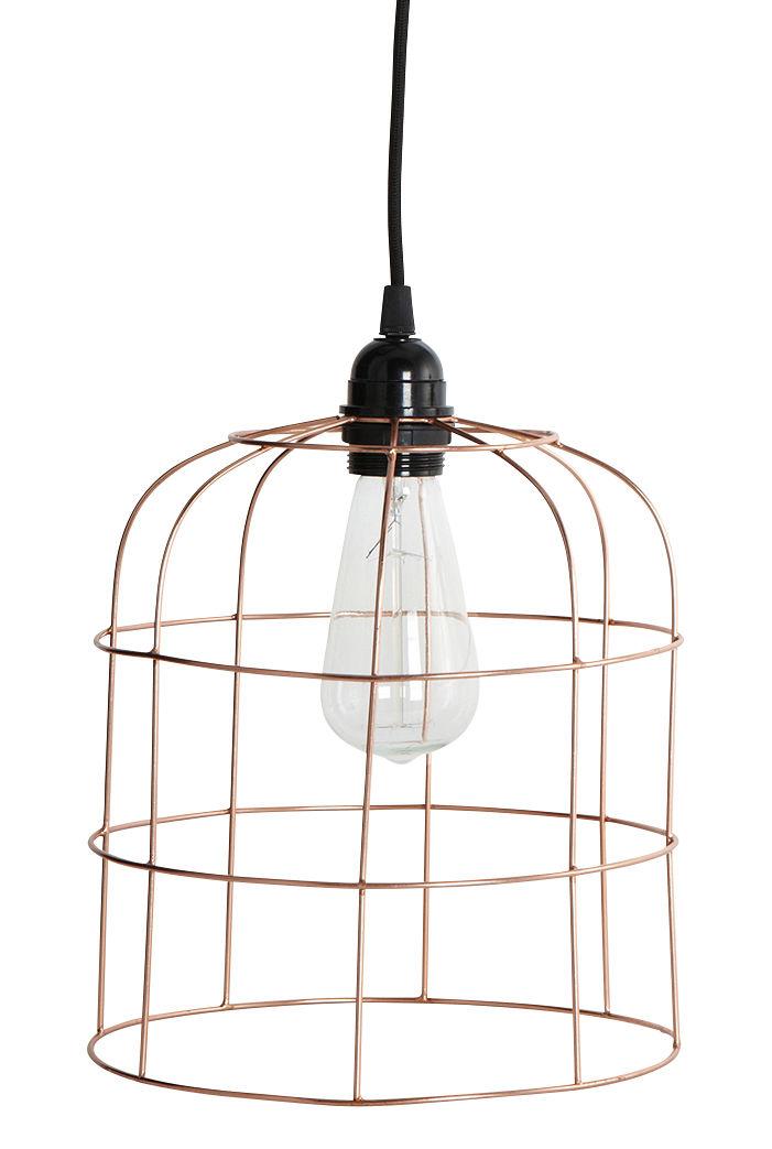 abat jour mesh 23 x h 25 cm cuivre house doctor made in design. Black Bedroom Furniture Sets. Home Design Ideas