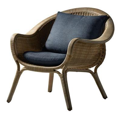 Coussin / Pour fauteuil Madame - Sika Design gris anthracite en tissu