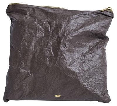 Accessoires - Sacs, trousses, porte-monnaie... - Trousse Packing Essentials / Medium - Tyvek recyclé - Hay - Café - Tyvek