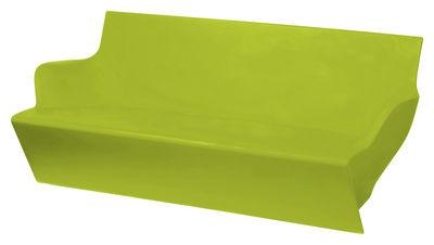 Sofà Kami Yon di Slide - Verde - Materiale plastico