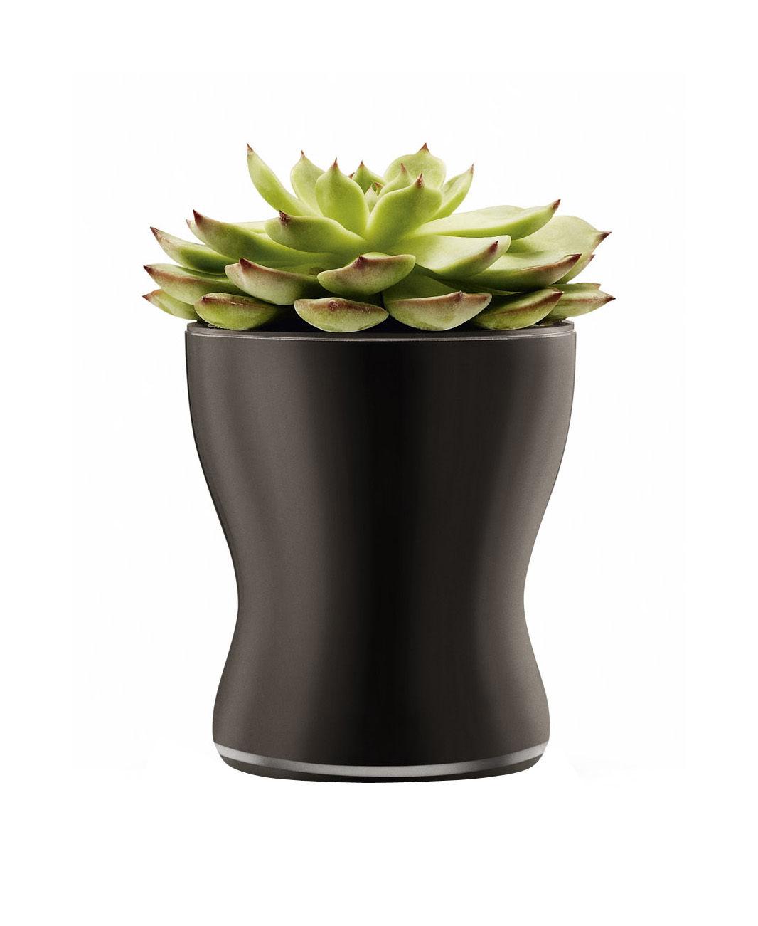 mit wasserreservoir 11 cm eva solo blumentopf mit wasserreservoir. Black Bedroom Furniture Sets. Home Design Ideas