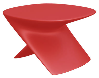 Furniture - Coffee Tables - Ublo Coffee table - pouf by Qui est Paul ? - Red - Polythene