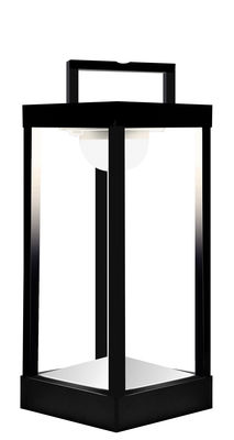 lampe solaire la lampe parc m led sans fil h 40 cm noir maiori. Black Bedroom Furniture Sets. Home Design Ideas