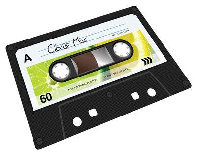 Arts de la table - Plateaux - Planche à découper Cassette / 30 cm x 20 cm - Joseph Joseph - Cassette - Verre