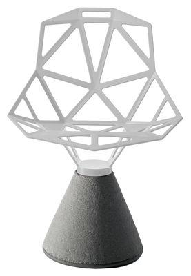 Poltrona Chair one B di Magis - Bianco - Metallo