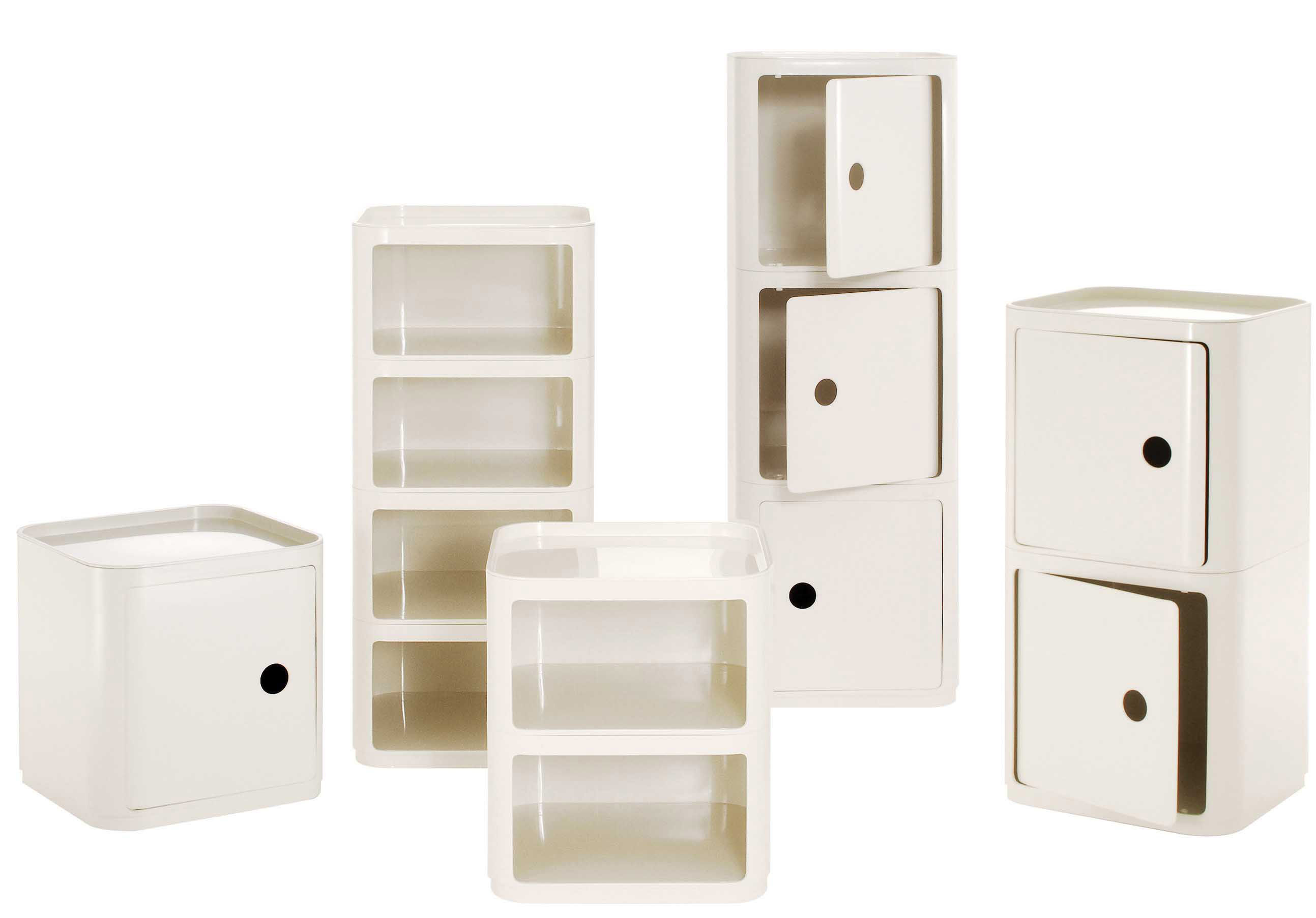 scopri mobile contenitore componibili cubo bianco di