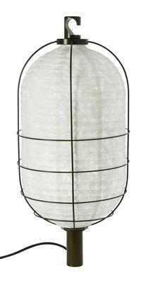 Foto Lampada In & Out - Media - Lampada portatile Ø 30 cm di Forestier - Verde - Metallo