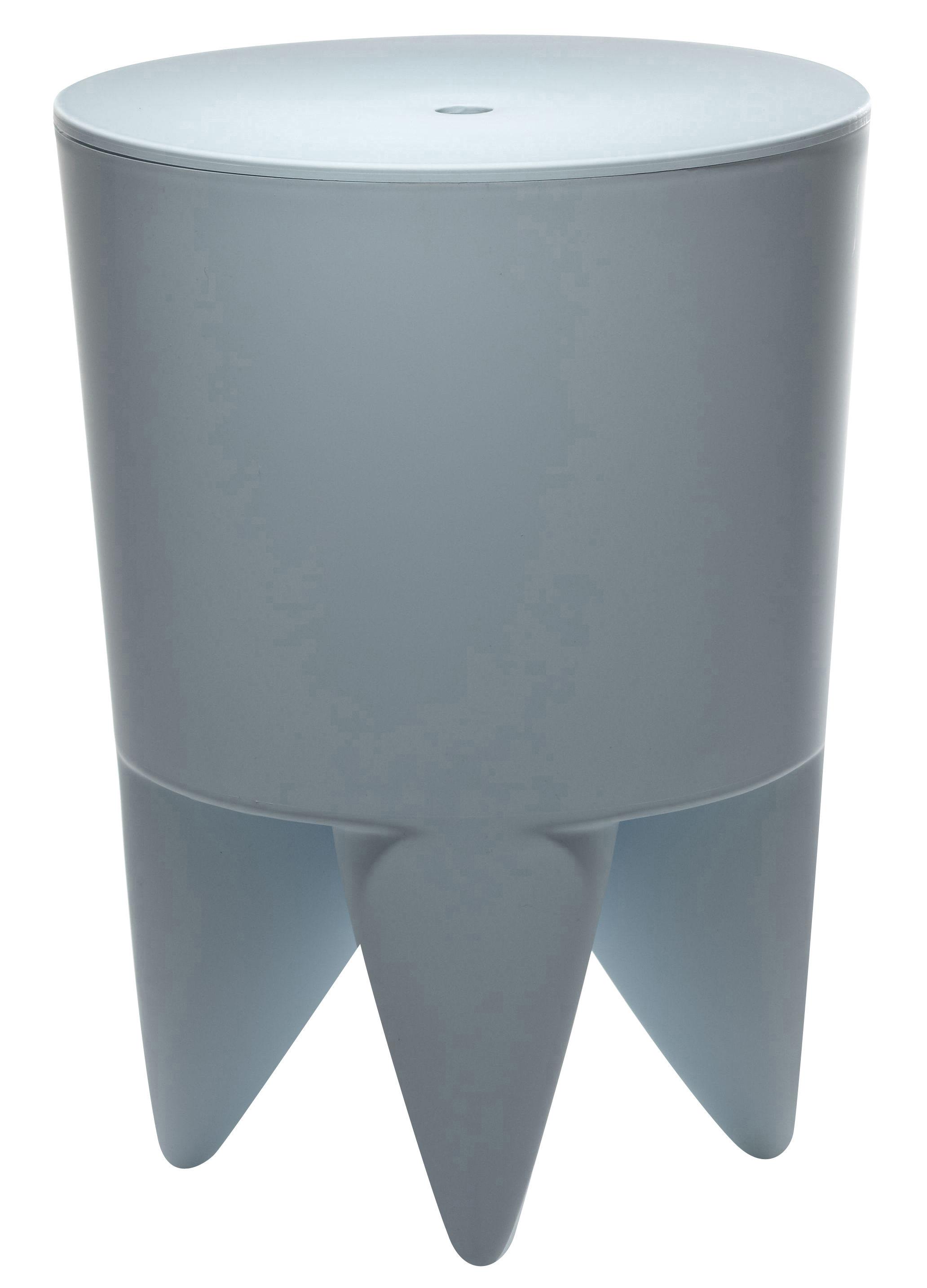tabouret new bubu 1er coffre plastique bleu ciel xo. Black Bedroom Furniture Sets. Home Design Ideas