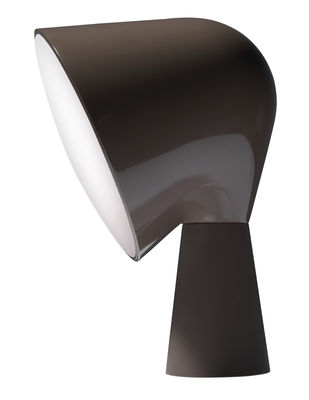 Lighting - Table Lamps - Binic Table lamp by Foscarini - Grey - ABS, Polycarbonate