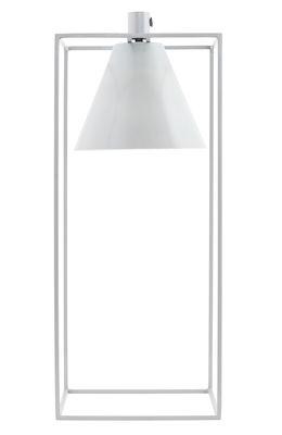 Luminaire - Lampes de table - Lampe de table Kubix / H 42 cm - Métal - House Doctor - Gris clair - Métal laqué