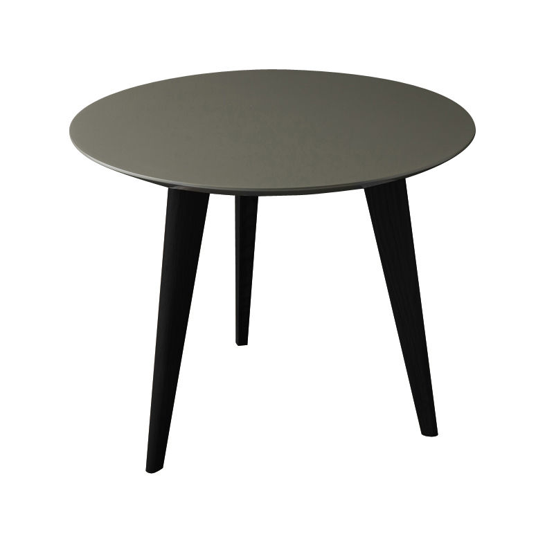 Table Basse Lalinde Small 45cm Pieds Noirs Gris