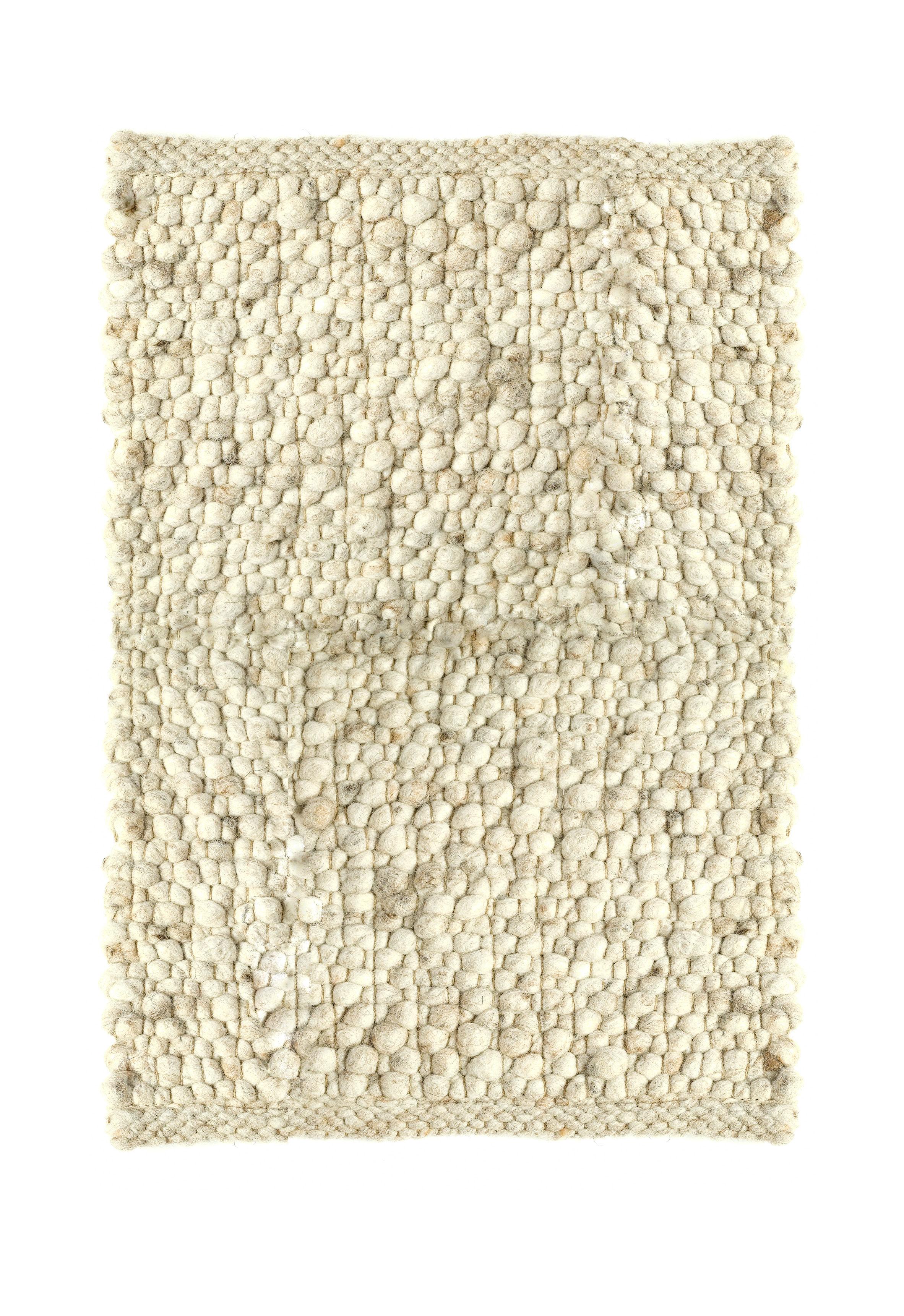 tapis carpet pebbles 130 x 200 cm 130 x 200 cm blanc cass pols potten. Black Bedroom Furniture Sets. Home Design Ideas