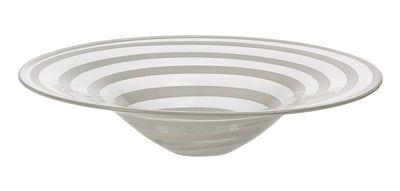 Tischkultur - Salatschüsseln und Schalen - Twist Schale Ø 36 cm - Leonardo - Weiß - Ø 36 cm - Glas